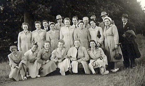 1957_Wanderung nach Kloster