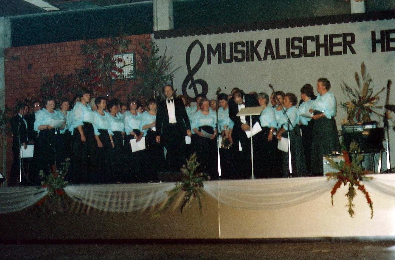 1982 - 30 Jahre Gemischter Chor Harderberg