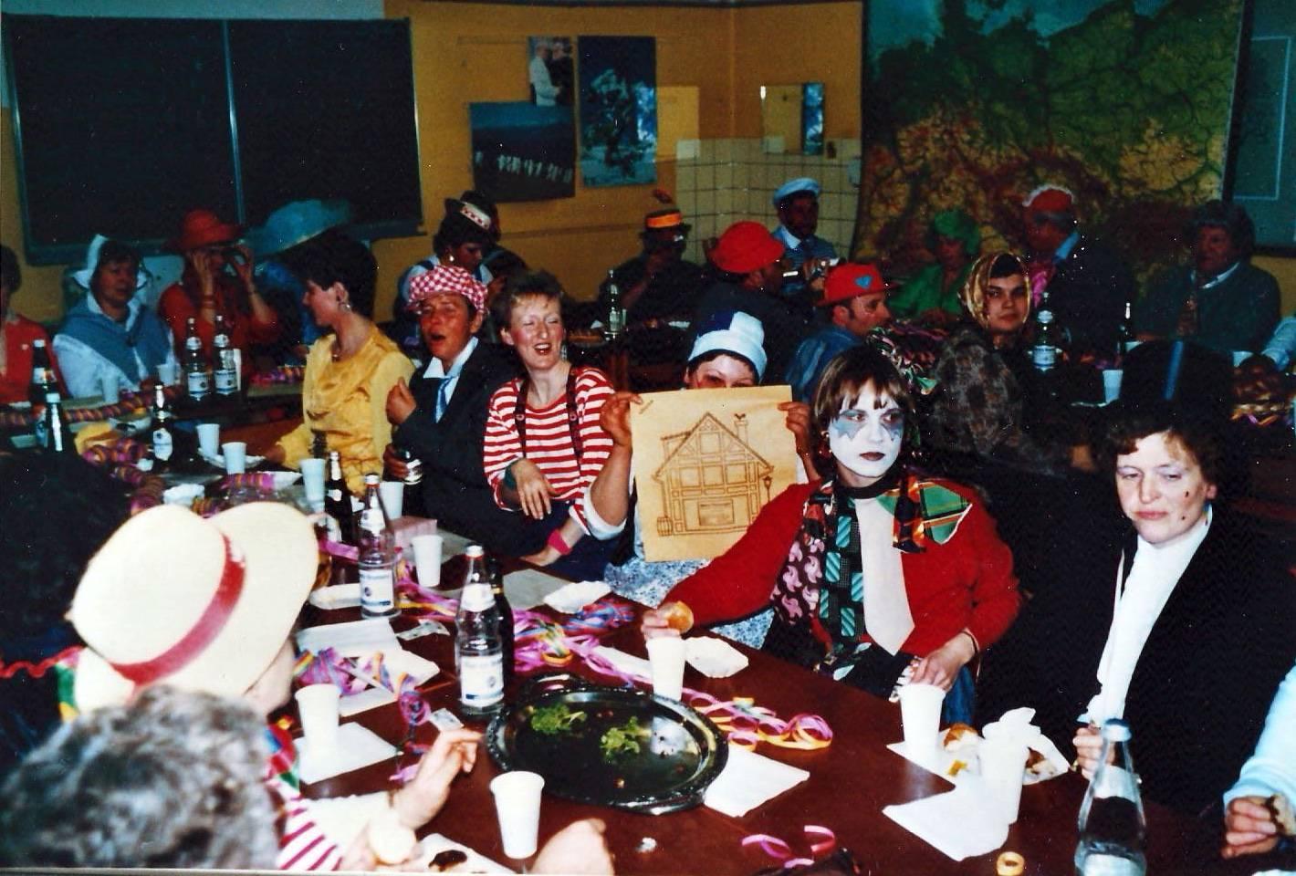 1988 - Karneval wird immer rauschend gefeiert