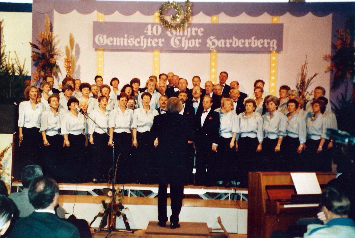 1992 - 40. Jubiläum unseres Chores