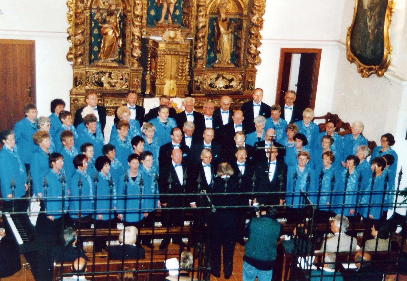 1999 - Chorfahrt nach Ibiza mit vielen Auftritten