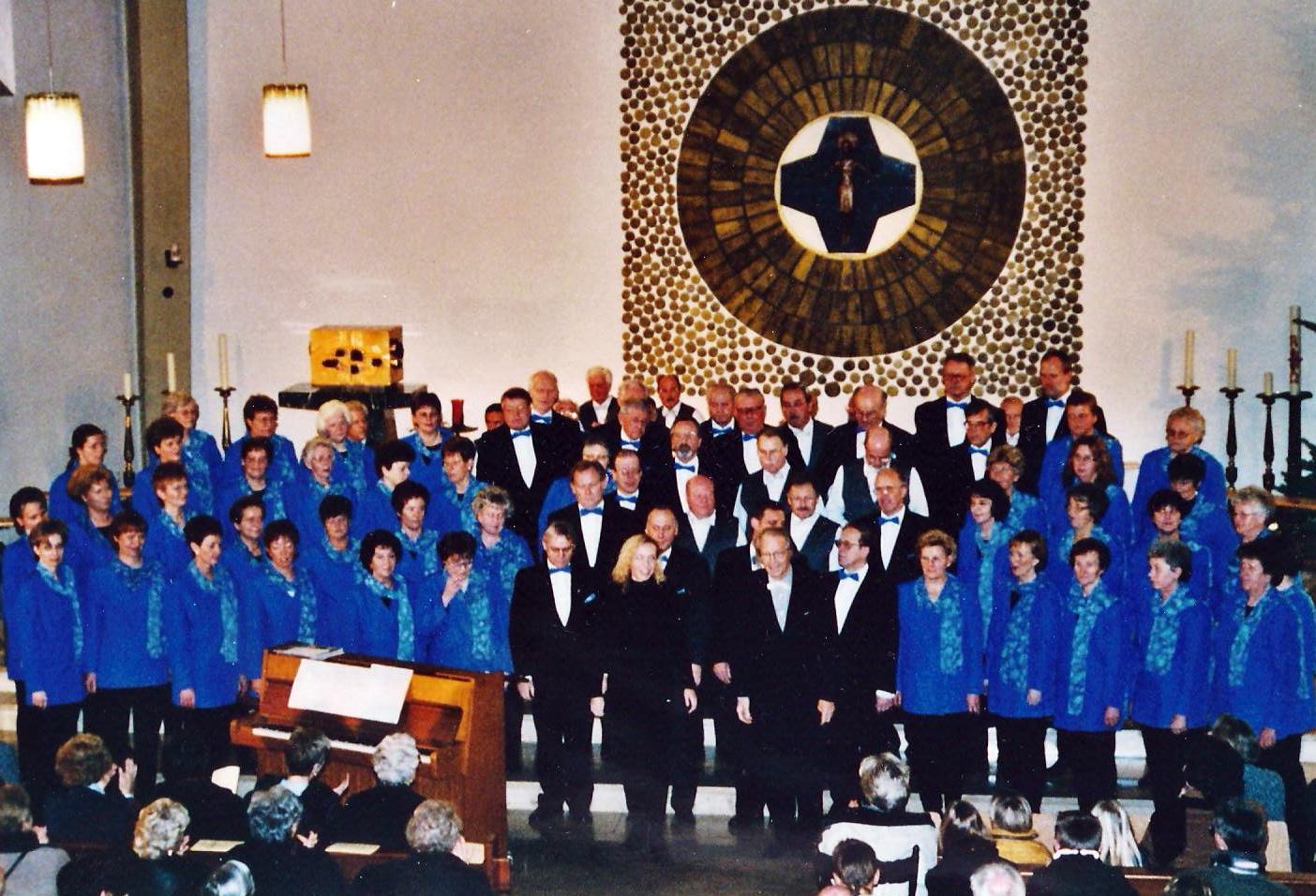1999 - Weihnachtskonzert in der Kirche St. Maria Frieden, Harderberg