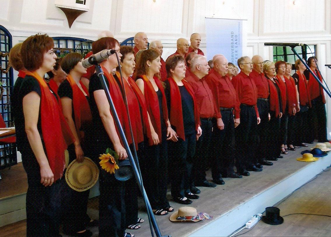 2009 - Auftritt in der Konzertmuschel Bad Rothenfelde