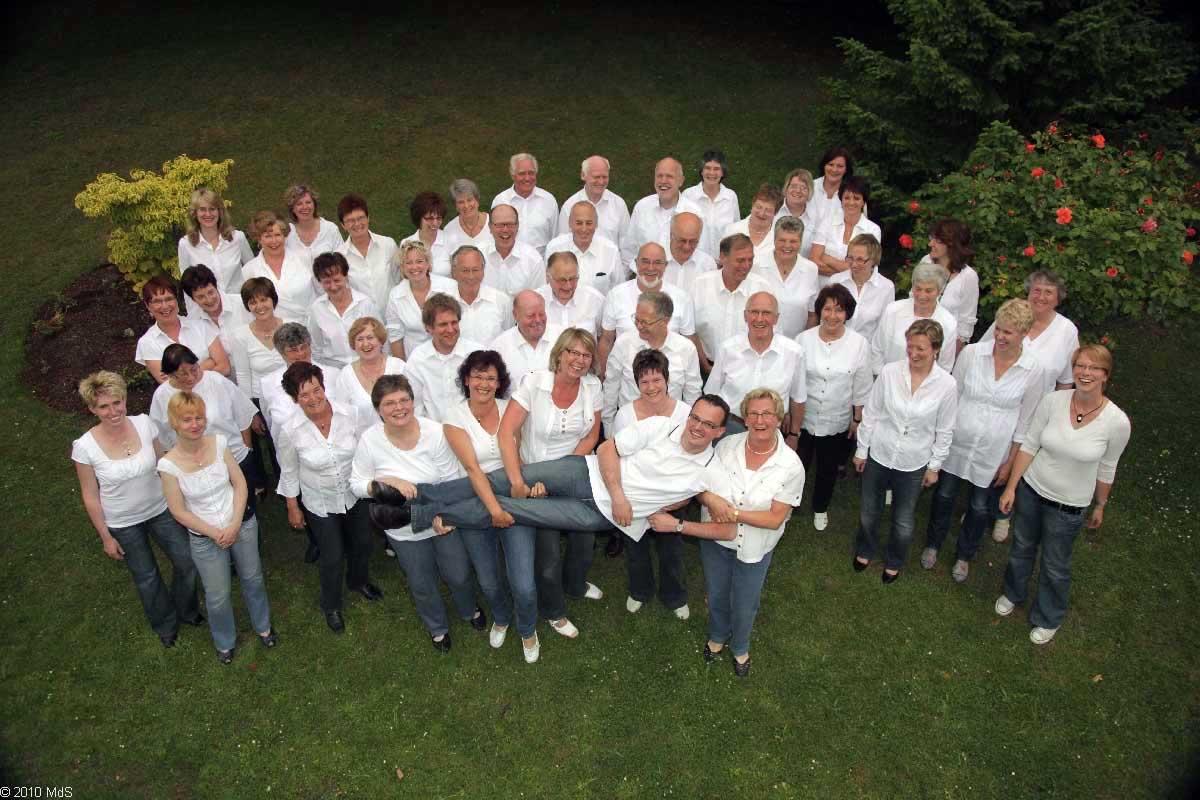 2010 - Wir tragen unseren Dirigenten auf Händen