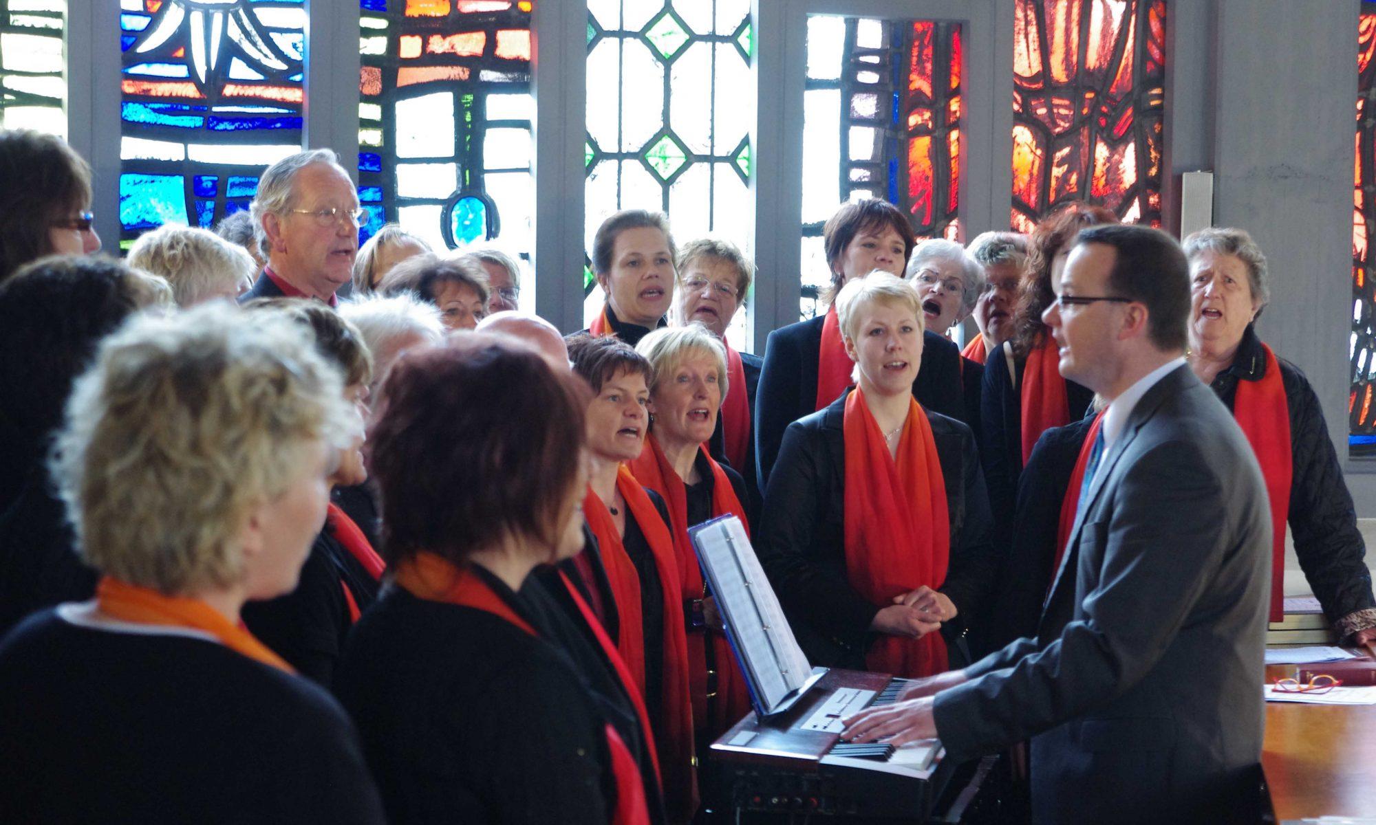2012 - beim Festgottesdienst zum 60. Jubiläum unseres Chores