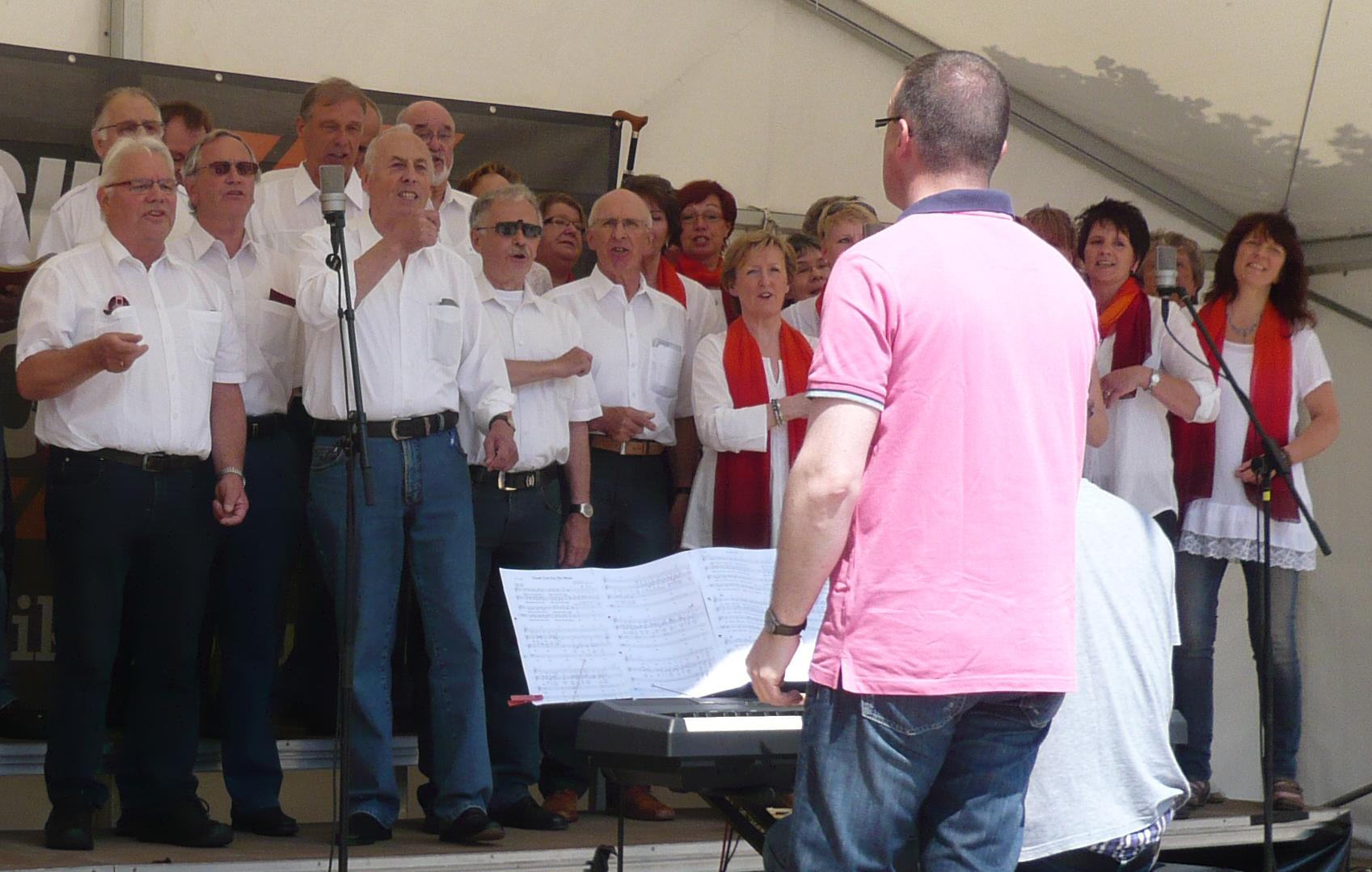 2013 - Auf dem Ibbenbürener Chorfest