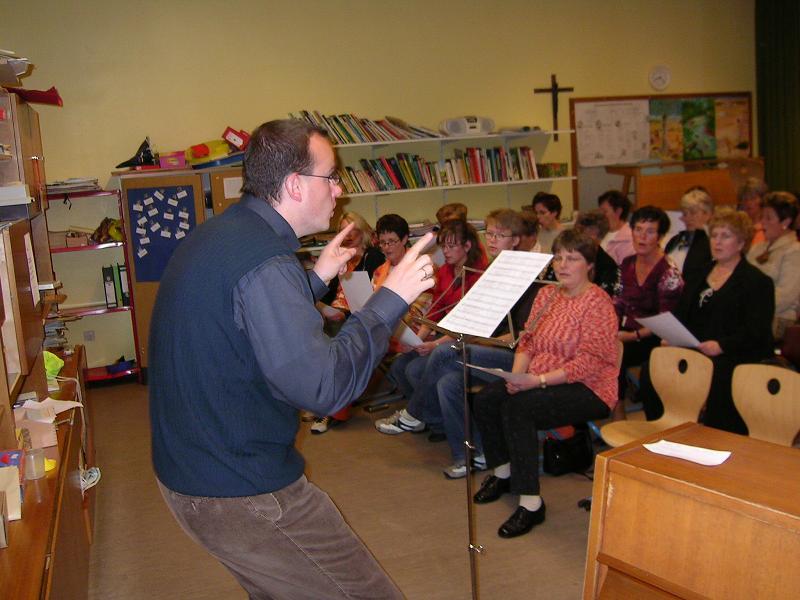 2007 - Probe in der Grundschule Harderberg