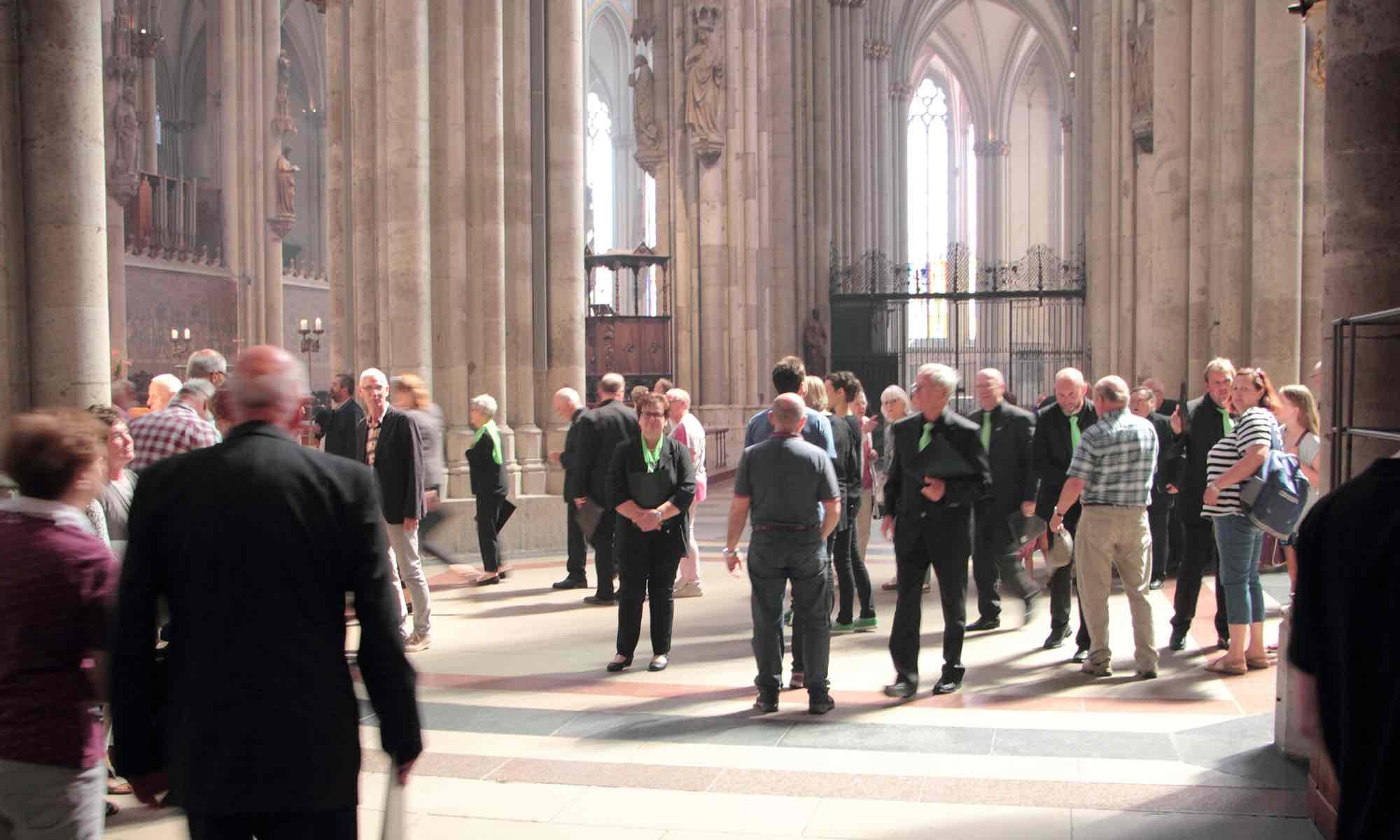 ... Erleichterung nach der Messe - und erstes Feedback von allen Mitgereisten ...